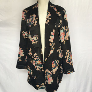 ett:wa by Anthropologie Floral Jacket/Coverup S